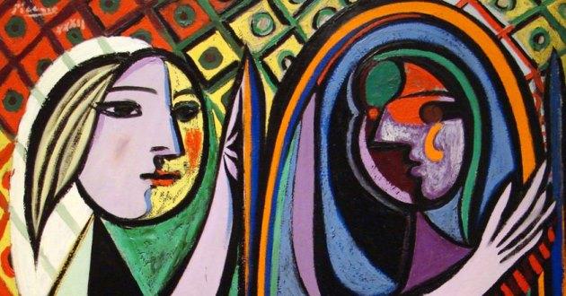 Obra De Arte Da Semana O Misterio Da Mulher No Espelho De Pablo