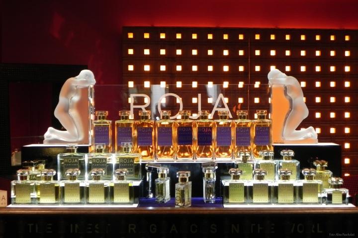 Perfumes da marca inglesa Roja