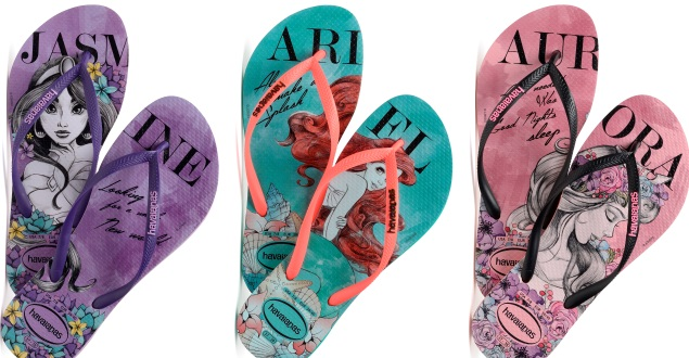 cc7b4457d Nova coleção Havaianas Slim das Princesas Disney! – Artrianon
