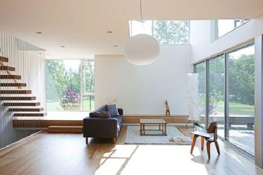 Casas minimalistas e aconchegantes artrianon for Ambientes minimalistas interiores