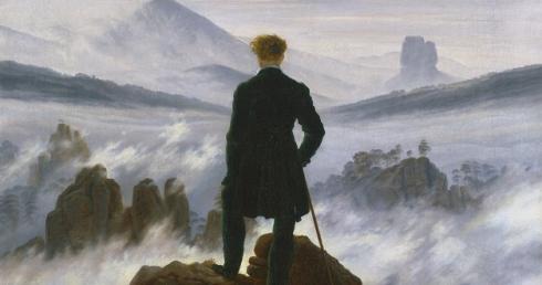 OBRA DE ARTE DA SEMANA: Caminhante sobre o mar de névoa de Caspar David  Friedrich – Artrianon