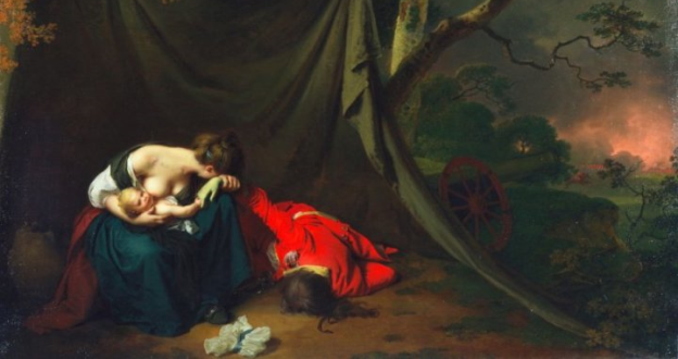 "OBRAS INQUIETAS 40. ""O soldado morto"" (1789), Joseph Wright"