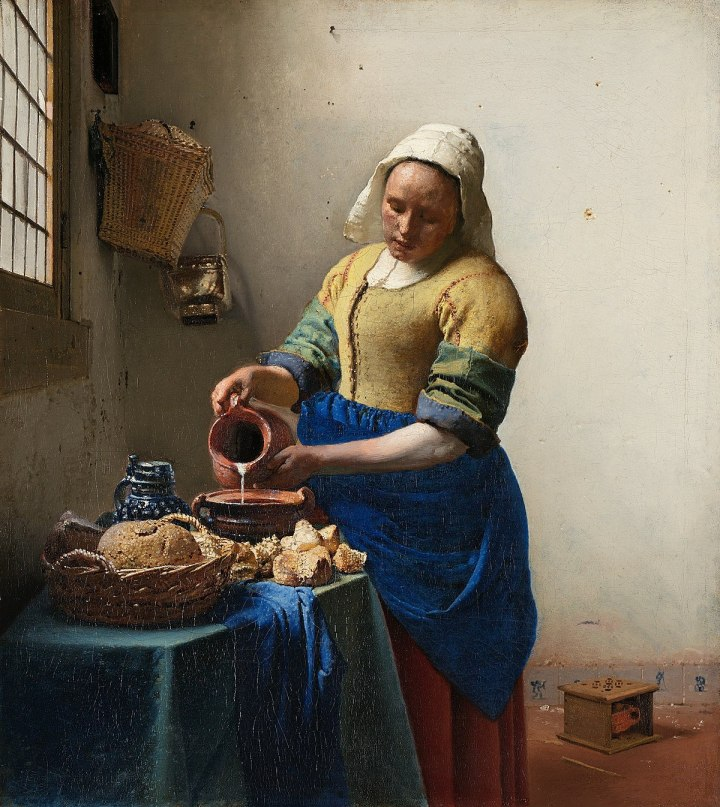 the milkmaid vermeer