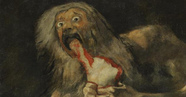 OBRA DE ARTE DA SEMANA: Saturno devorando um filho, de Goya