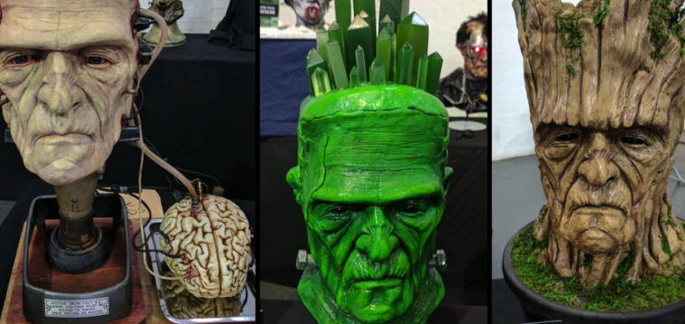 Veja fantásticas esculturas de Frankenstein