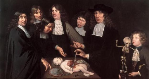 """OBRAS INQUIETAS 47. """"A lição de anatomia do Dr. Frederik Ruysch"""" (1714), Jan van Neck"""