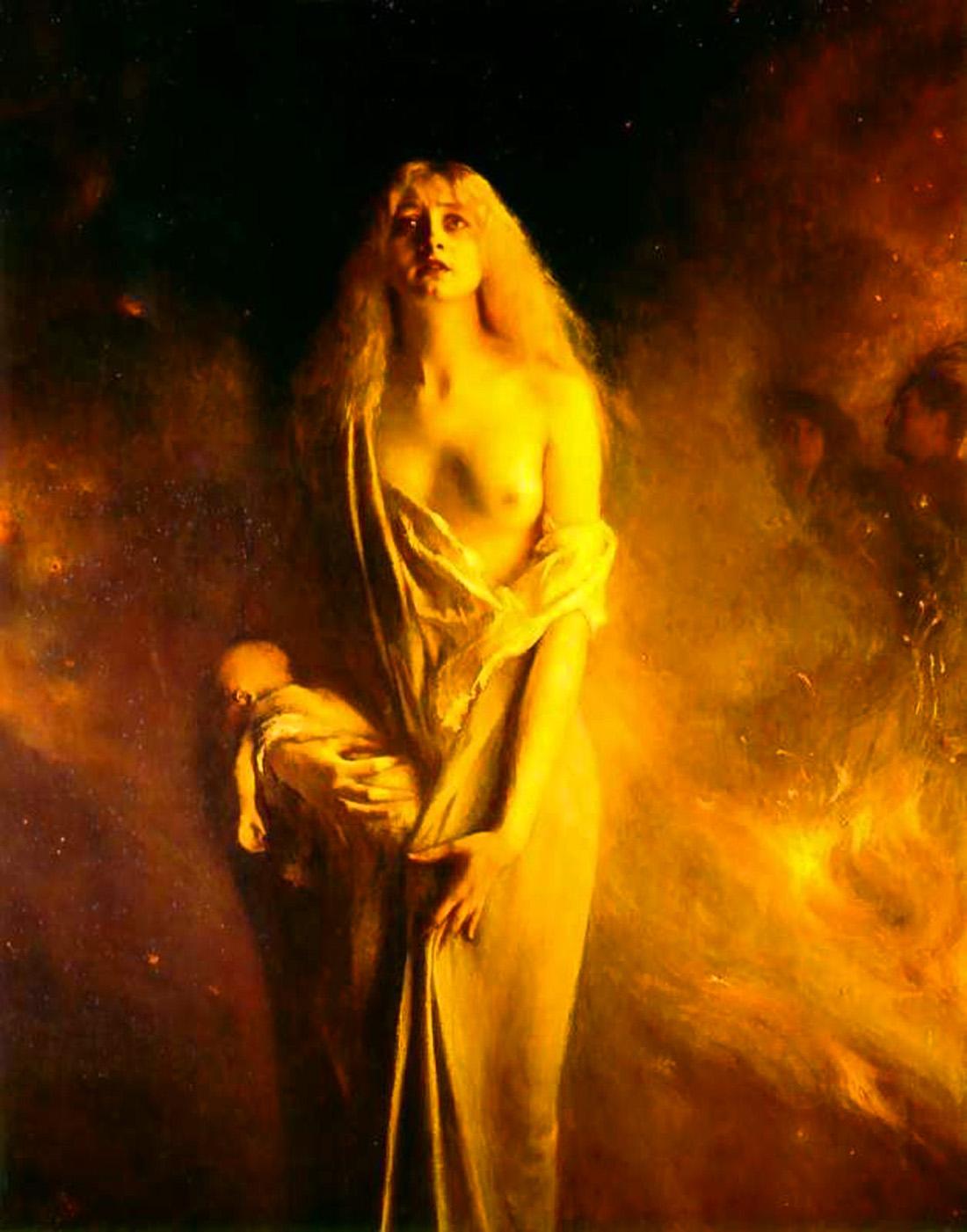 "OBRAS INQUIETAS 53. ""Marguerite no sabá"" (1911), Pascal Dagnan-Bouveret"