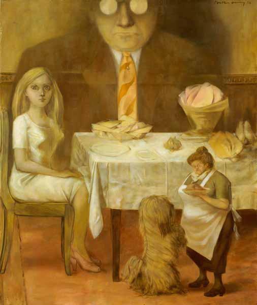 "OBRAS INQUIETAS 57. ""Retrato de Família"" (1954), Dorothea Tanning"