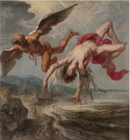 The Fall of Icarus gowy