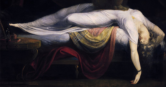 OBRA DE ARTE DA SEMANA: 'O Pesadelo' de Johan Heinrich Füssli
