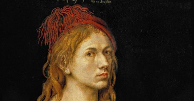 OBRA DE ARTE DA SEMANA: Autorretrato ou Retrato do artista segurando um cardo, de Dürer