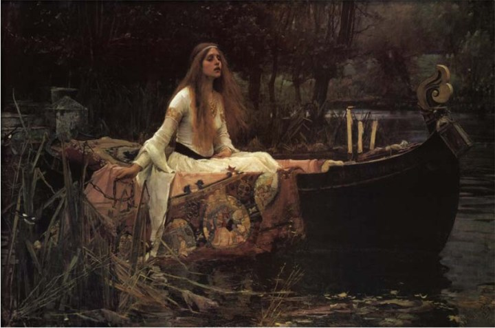 The Lady of Shalott, 1888 John William Waterhouse