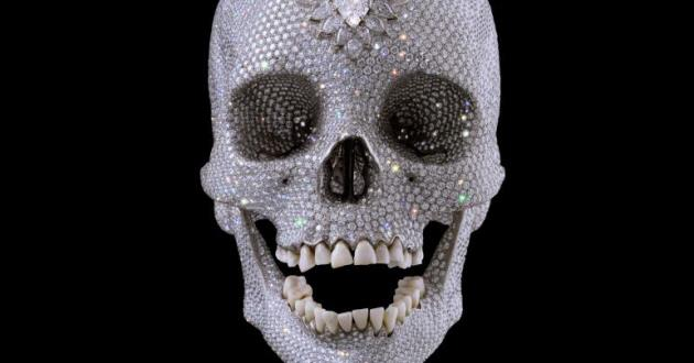 OBRA DE ARTE DA SEMANA: 'For the Love of God' de Damien Hirst