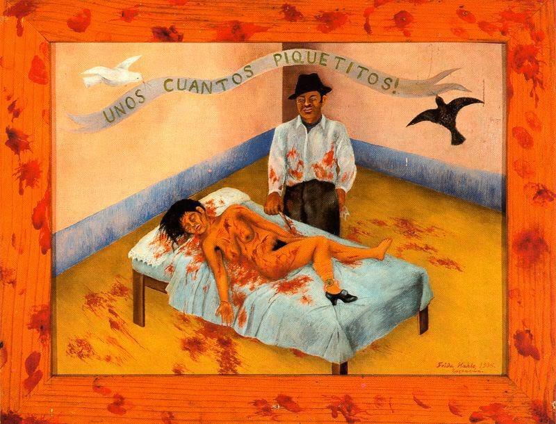 OBRA DE ARTE DA SEMANA | A denúncia ao feminicídio por Frida Kahlo