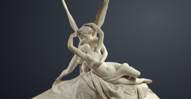 OBRA DE ARTE DA SEMANA: Psiquê reanimada por um beijo do Amor, de Canova