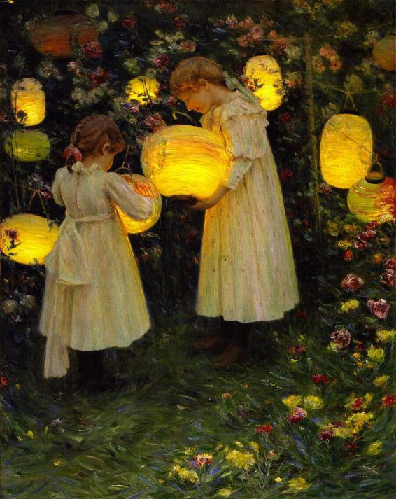 japanese lanterns luther emerson van gorder