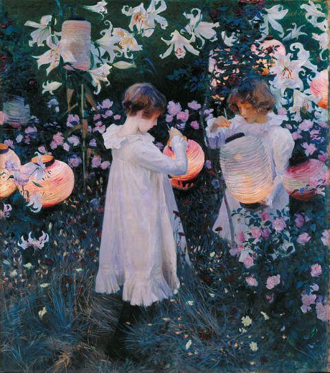 John Singer Sargent Carnation, Lily, Lily, Rose