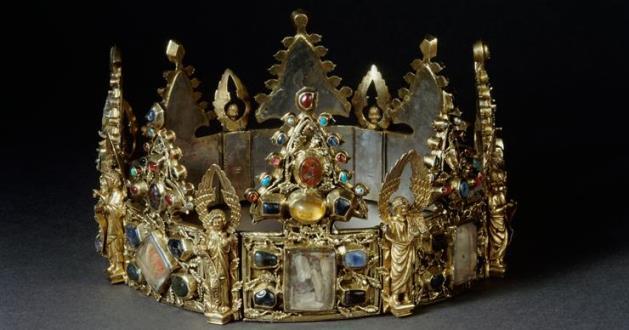 OBRA DE ARTE DA SEMANA: Coroa-relicário dita de São Luís ou Coroa de Liège