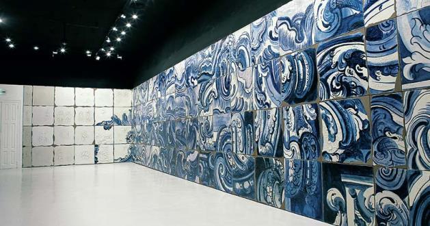 OBRA DE ARTE DA SEMANA: 'Azulejões' de Adriana Varejão