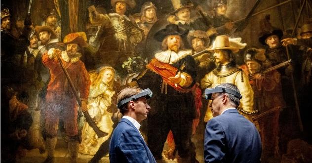 Transmissão ao vivo mostra a restauração de 'A Ronda Noturna', de Rembrandt