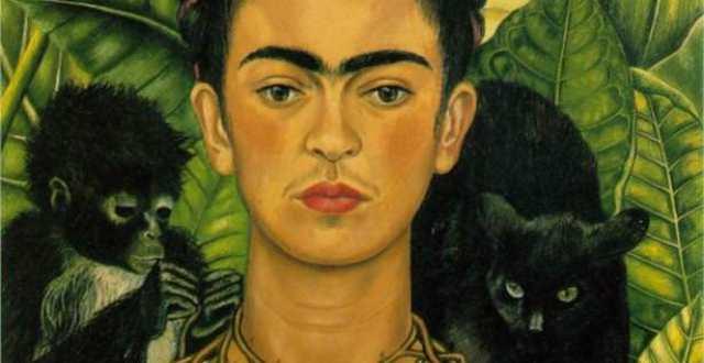 OBRA DE ARTE DA SEMANA: 'Autorretrato com colar de espinhos e beija-flor', de Frida Kahlo