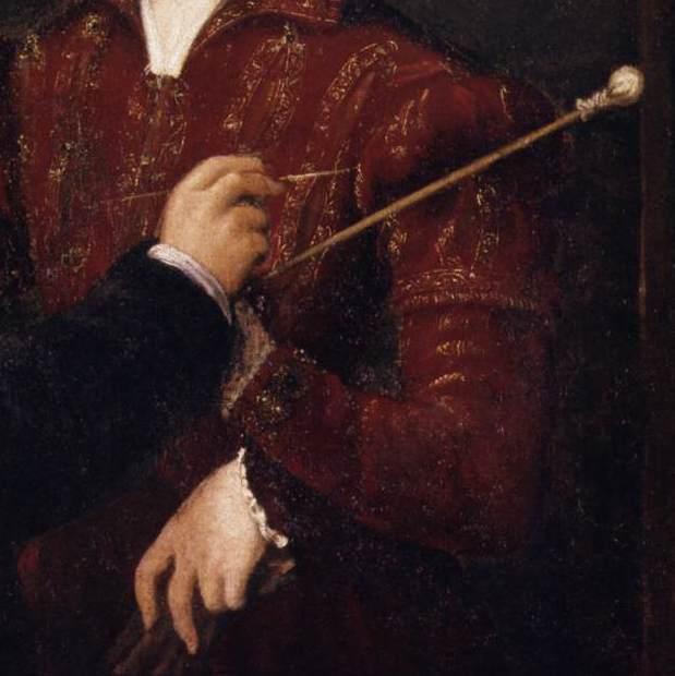 sofonisba anguissola retrato detalhe