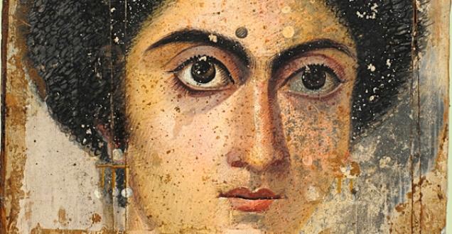 OBRA DE ARTE DA SEMANA: Retrato de Mulher de El Fayum