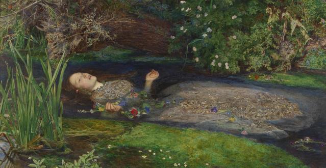 OBRA DE ARTE DA SEMANA | Ofélia, de Sir John Everett Millais