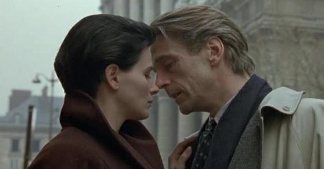 O amor no filme 'Perdas e Danos' de Louis Malle com Juliette Binoche