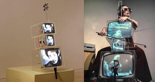 OBRA DE ARTE DA SEMANA: 'TV Cello' de Nam June Paik