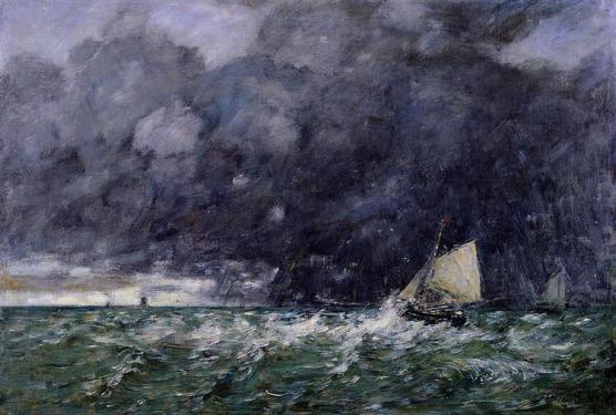 boudin rough seas