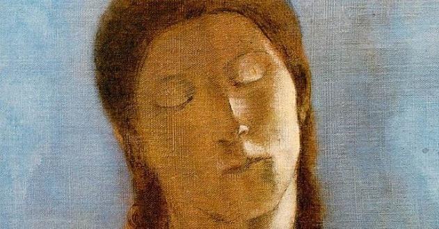 OBRA DE ARTE DA SEMANA | Os olhos fechados, de Odilon Redon