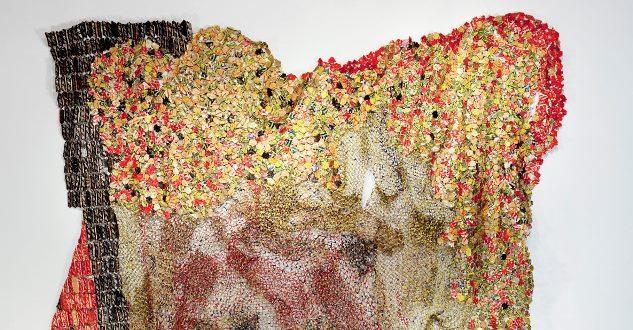 OBRA DE ARTE DA SEMANA: As magníficas esculturas de lixo reciclado de El Anatsui