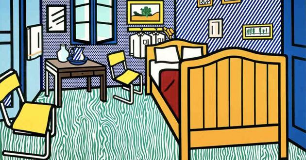 OBRA DE ARTE DA SEMANA: Uma releitura de Van Gogh por Roy Lichtenstein