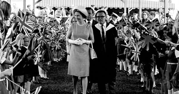 Os dias da rainha Elizabeth II no Brasil