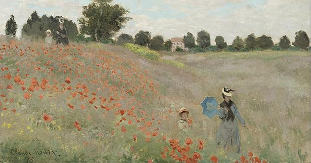 OBRA DE ARTE DA SEMANA | O campo de papoulas, de Claude Monet