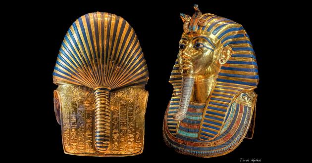 OBRA DE ARTE DA SEMANA: Máscara funerária de Tutancâmon