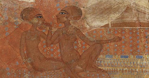 OBRA DE ARTE DA SEMANA: Duas das filhas de Akhenaton