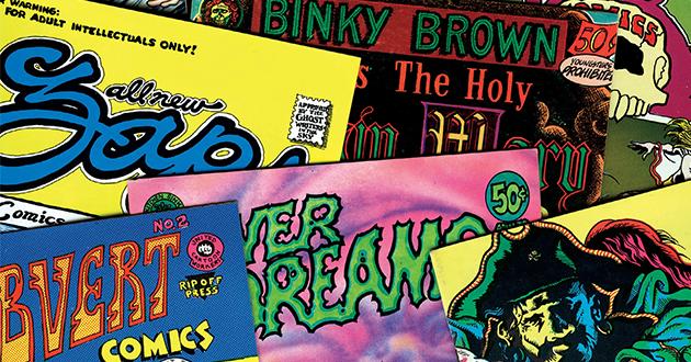 A contracultura e o polêmico movimento underground dos quadrinhos