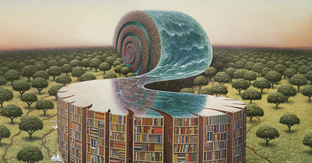 O mundo surreal de Jacek Yerka