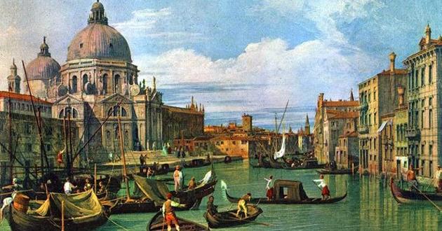 A cor na arte de Veneza