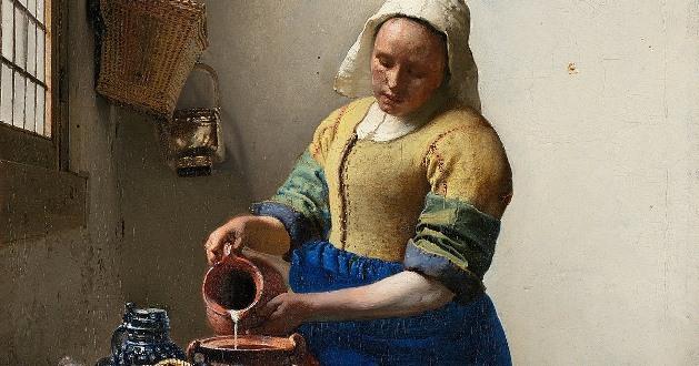 Vermeer: cor, luz e cotidiano